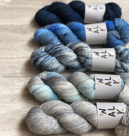 WALK collection FIVE SKEIN FADE - CRY ME A RIVER