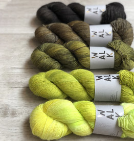 WALK collection FIVE SKEIN FADE - FOREST