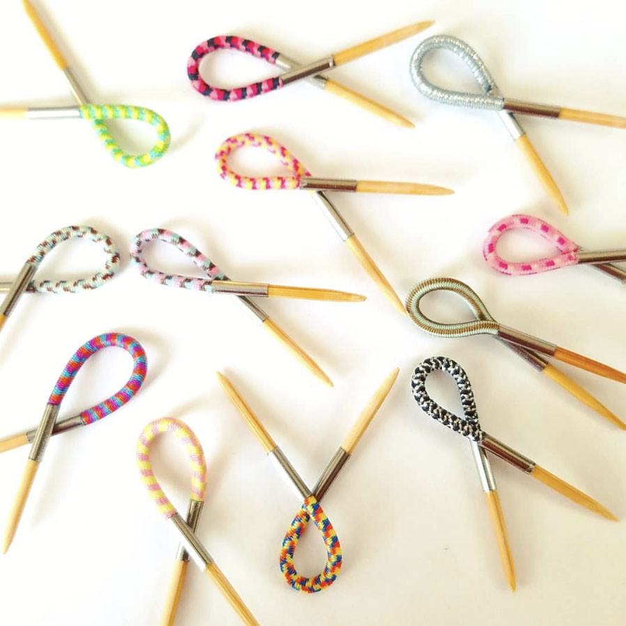 Floops FLOX STITCH MARKERS  5PK - ANY COLOUR