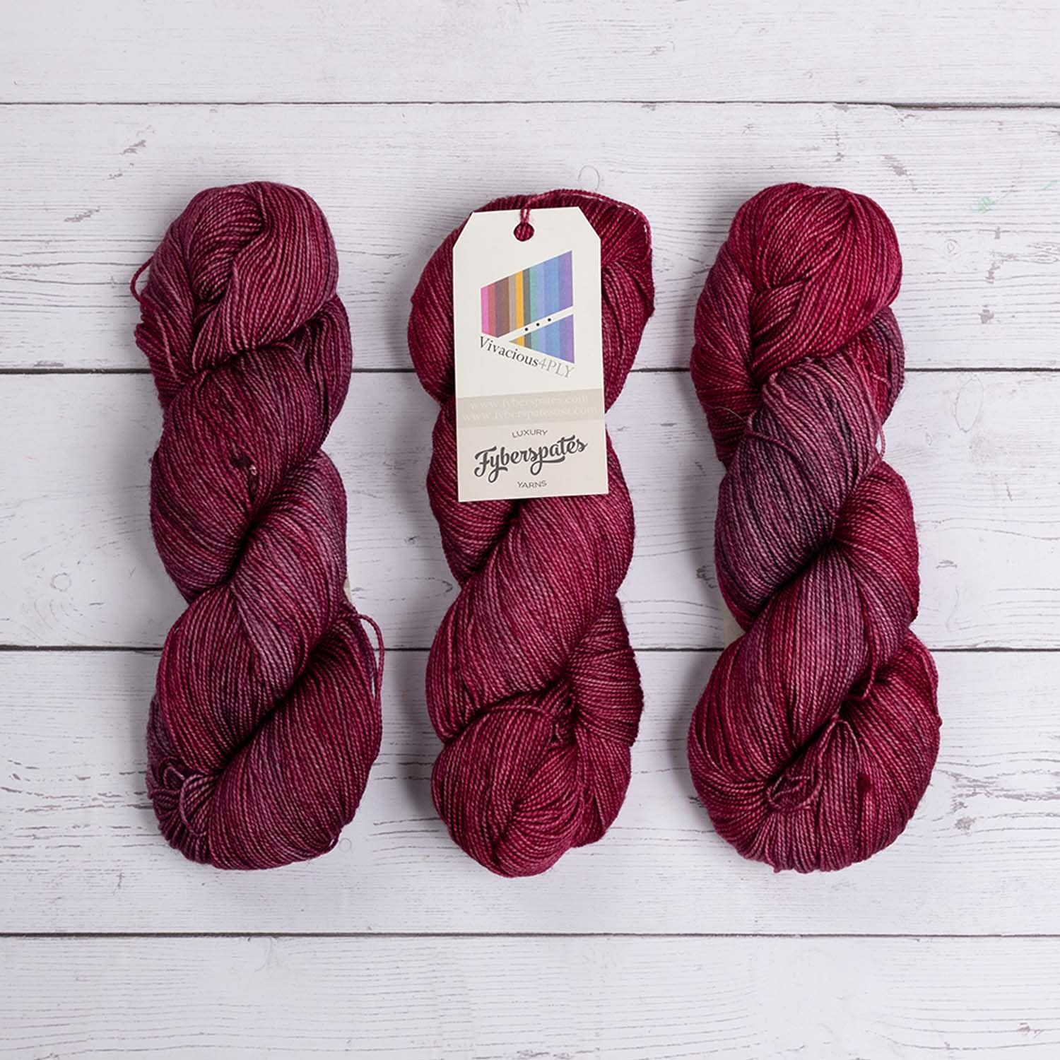 Fyberspates VIVACIOUS 4 PLY - 600 SPICED PLUM