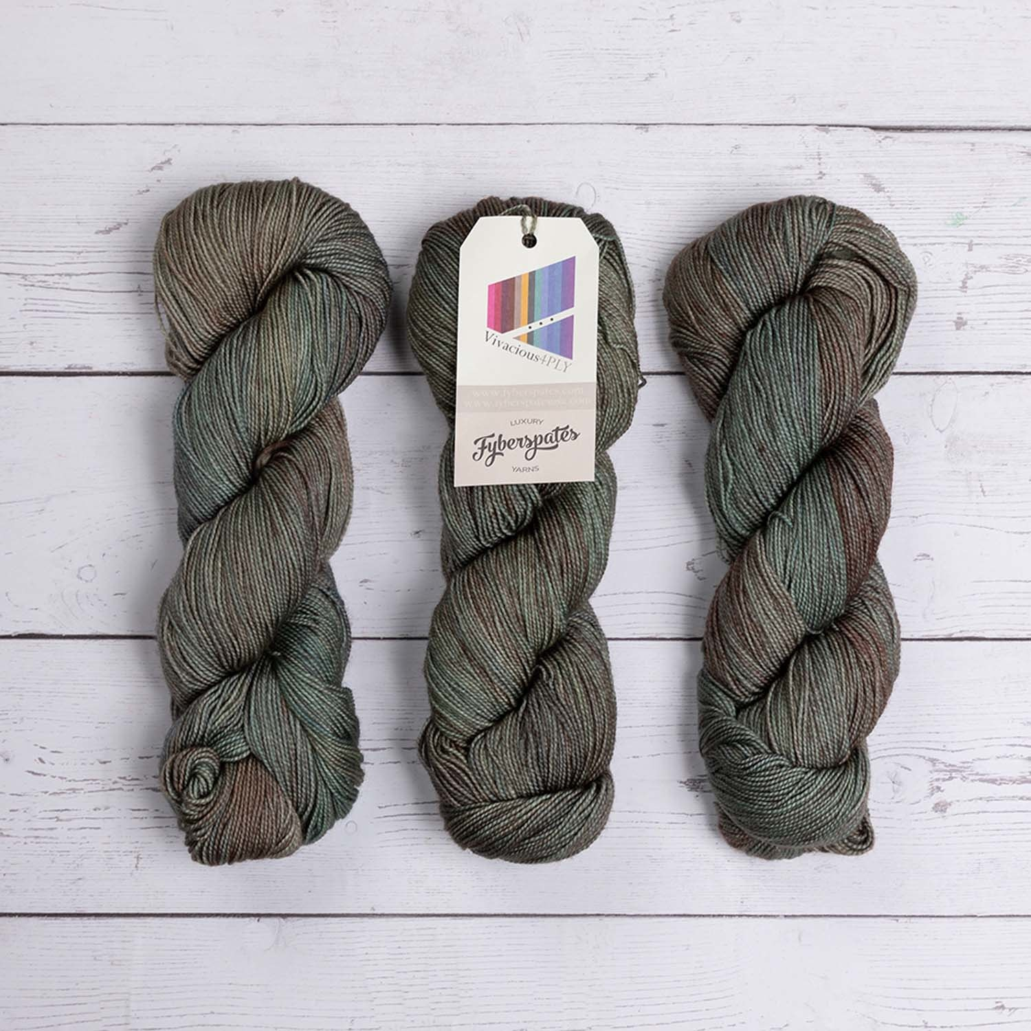 Fyberspates VIVACIOUS 4 PLY - 615 LUNDY ISLAND