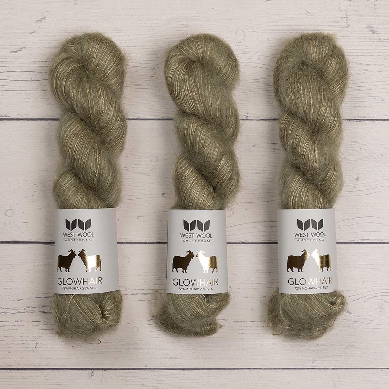 West Wool GLOWHAIR LICHEN