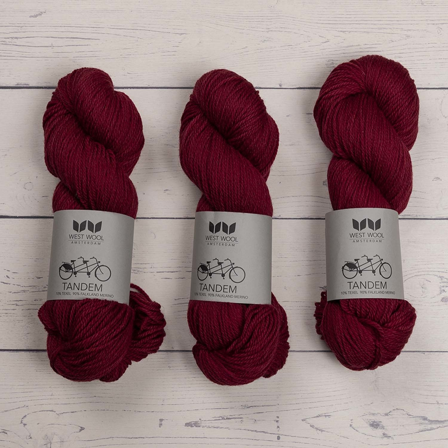 West Wool TANDEM BERRY