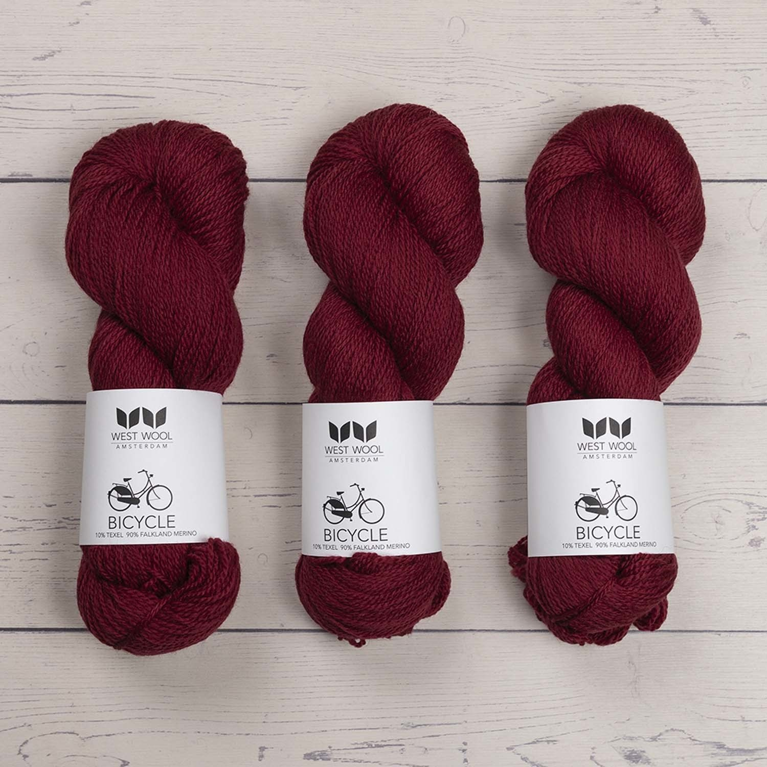 West Wool BICYCLE BERRY