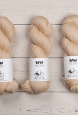 West Wool BICYCLE WHITE PEACH