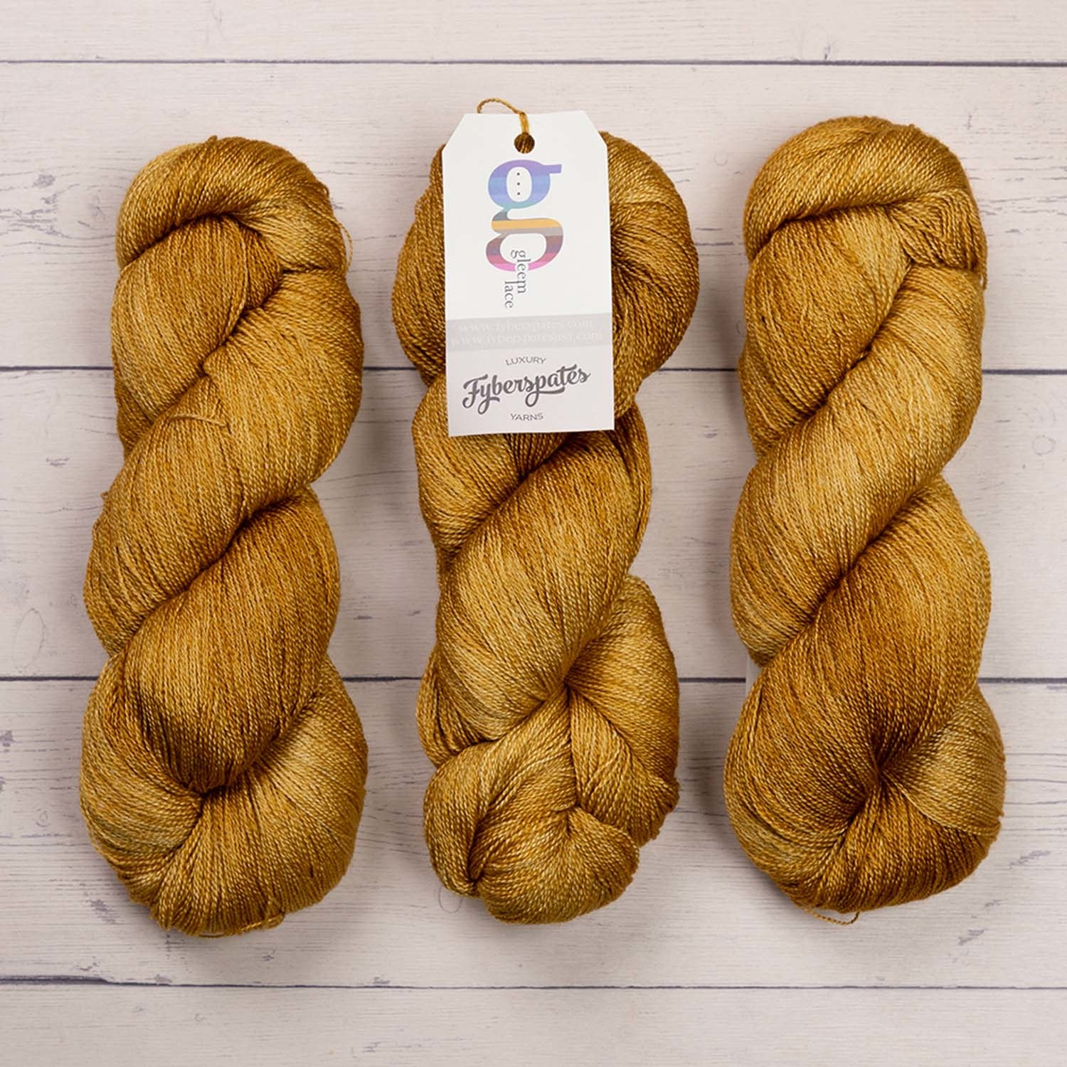 Fyberspates GLEEM LACE - 732 BURNISHED