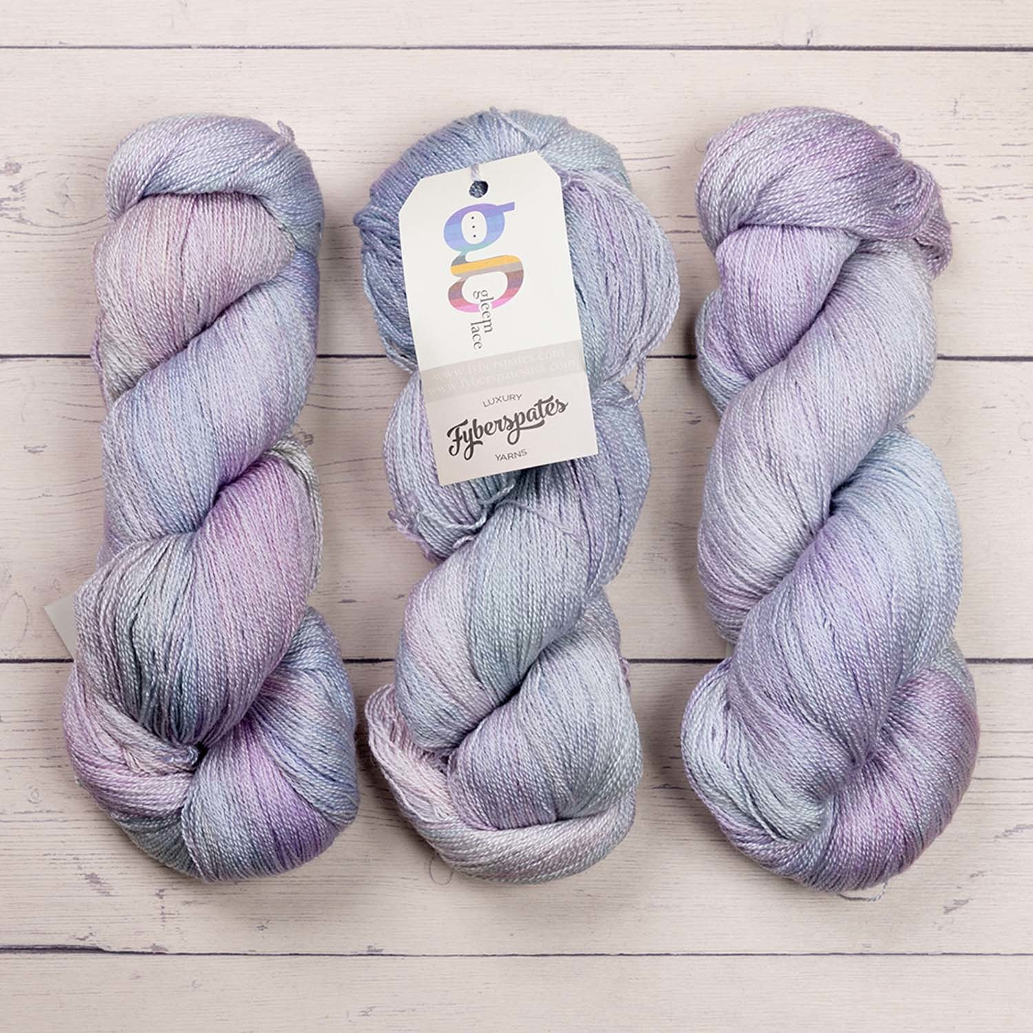 Fyberspates GLEEM LACE - 724 HEAVENLY