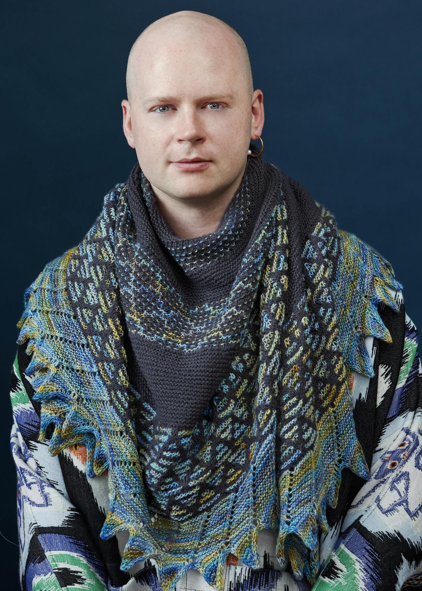 Westknits WESTKNITS KIT MOSAIC MUSINGS - PURPLE 2