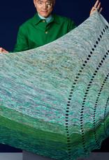 Westknits WESTKNITS WAVY WIGGLES KIT - GREEN