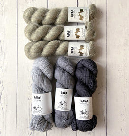 Westknits WK MOHAIR MIXER - KIT NEUTRAL