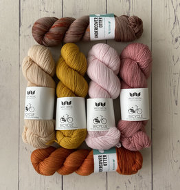 Westknits WK SPLASHING TIDES - KIT PINK & ORANGE