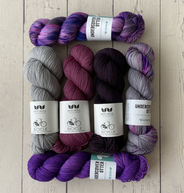 Westknits WESTKNITS SPLASHING TIDES - PURPLE
