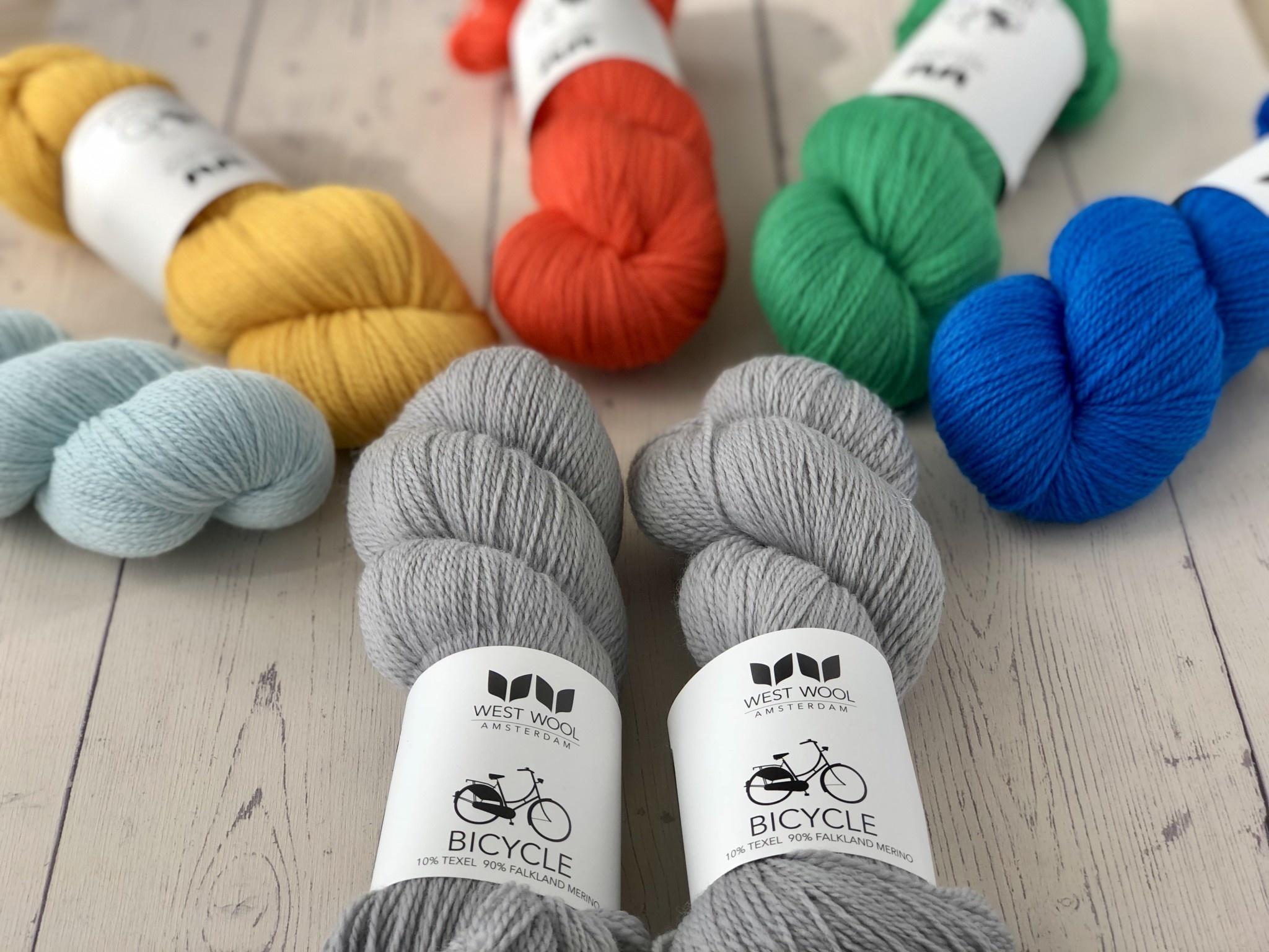 Westknits WK PAINTING BRICKS - KIT 8