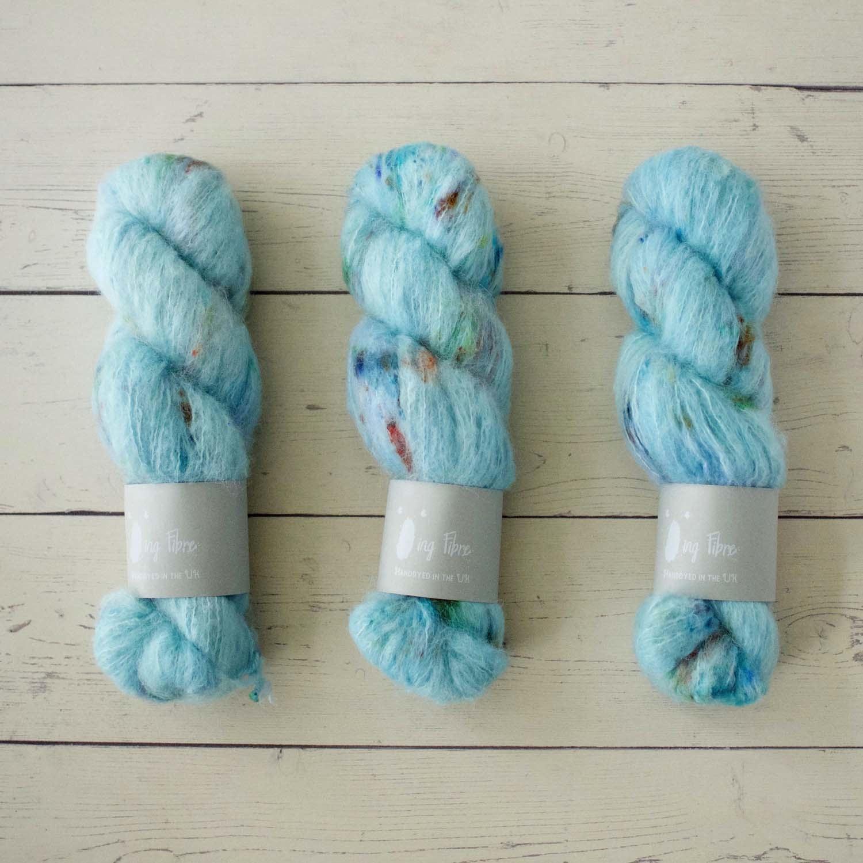 Qing Fibre MELTED BABY SURI - SKY BLUE