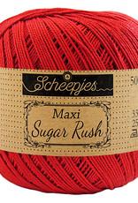 Scheepjes MAXI SUGAR RUSH - HOT RED 115
