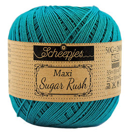 Scheepjes MAXI SUGAR RUSH - DARK TEAL 401
