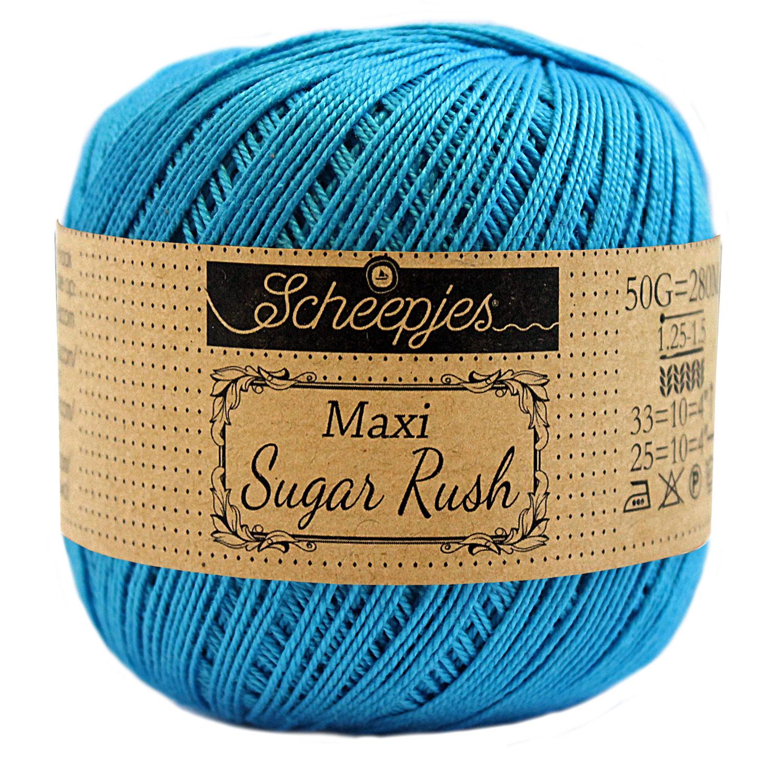 Scheepjes MAXI SUGAR RUSH - VIVID BLUE 146