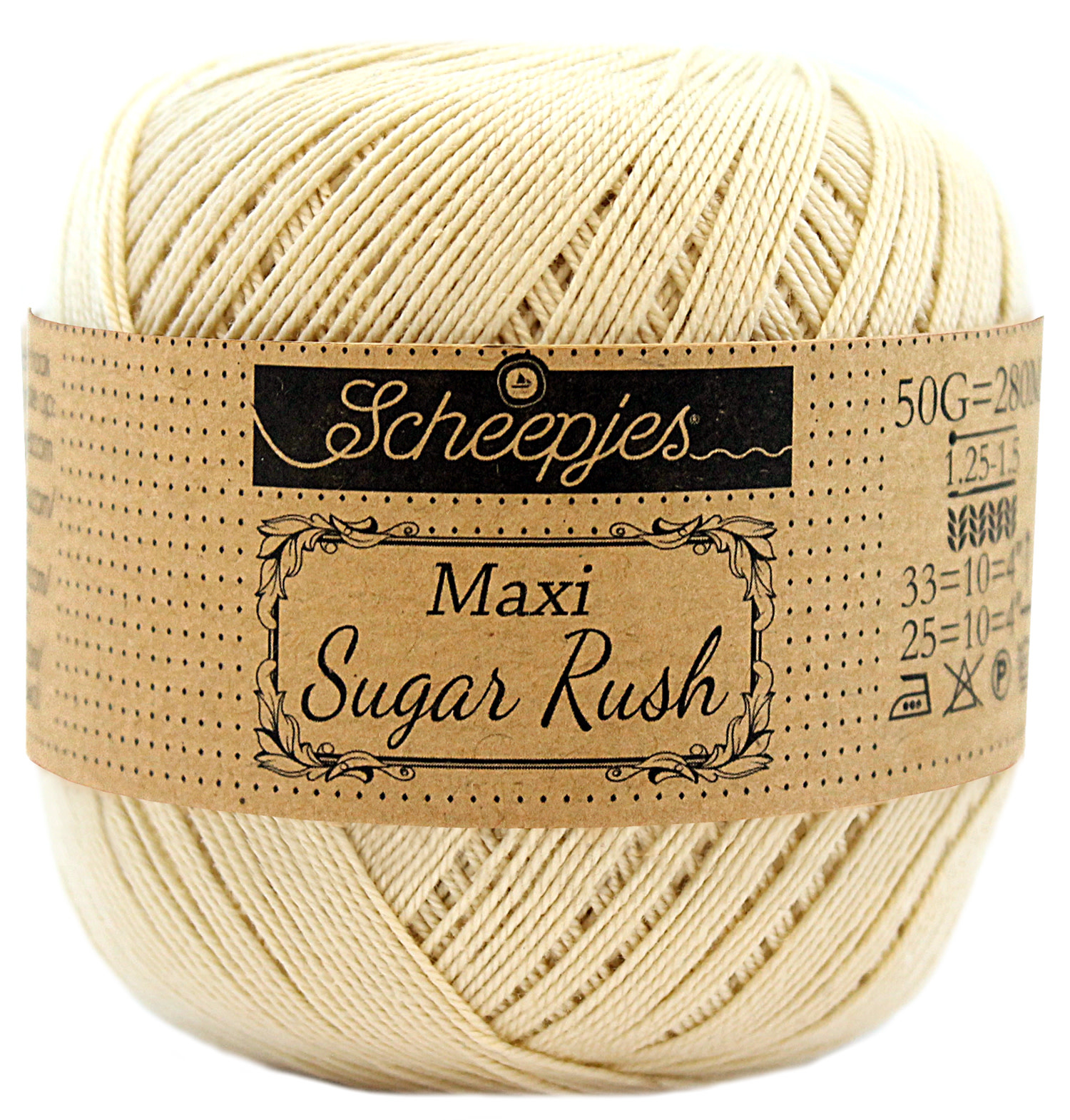 Scheepjes MAXI SUGAR RUSH - ENGLISH TEA 404
