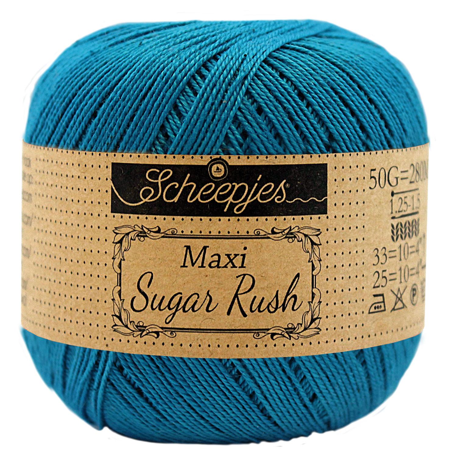 Scheepjes MAXI SUGAR RUSH - PETRON BLUE 400