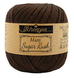 Scheepjes MAXI SUGAR RUSH - BLACK COFFEE 162