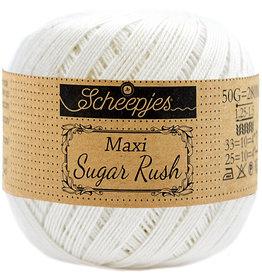 Scheepjes MAXI SUGAR RUSH - BRIDAL WHITE 105
