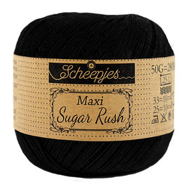 Scheepjes MAXI SUGAR RUSH - BLACK 110