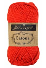 Scheepjes CATONA - HOT RED 115