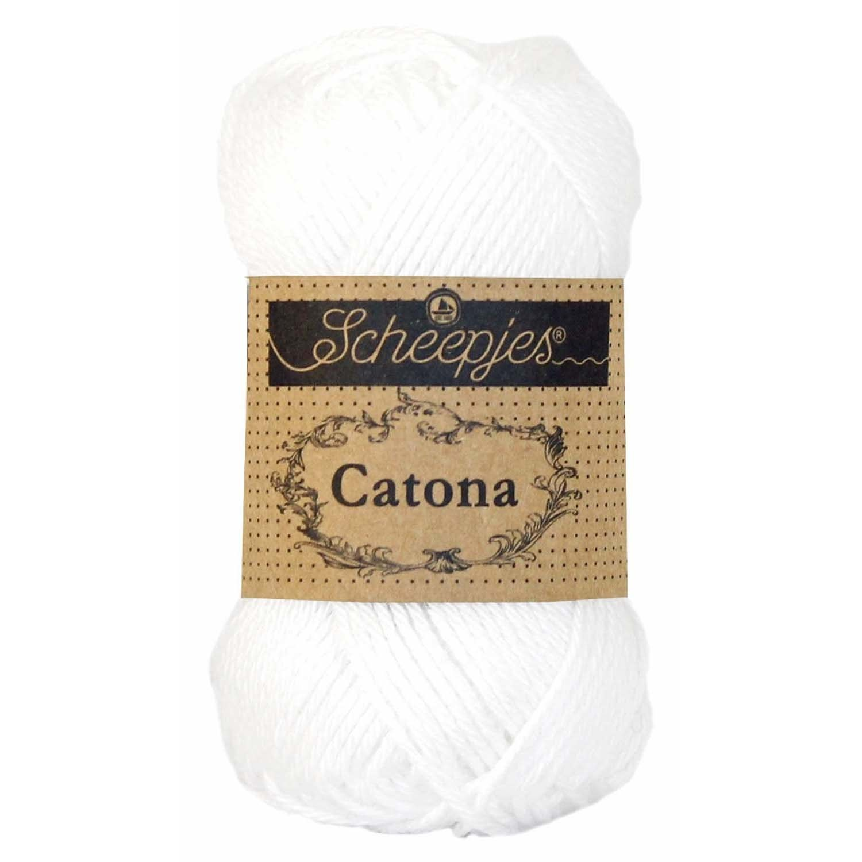 Scheepjes CATONA - SNOW WHITE 106