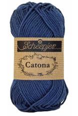 Scheepjes CATONA - LIGHT NAVY 164