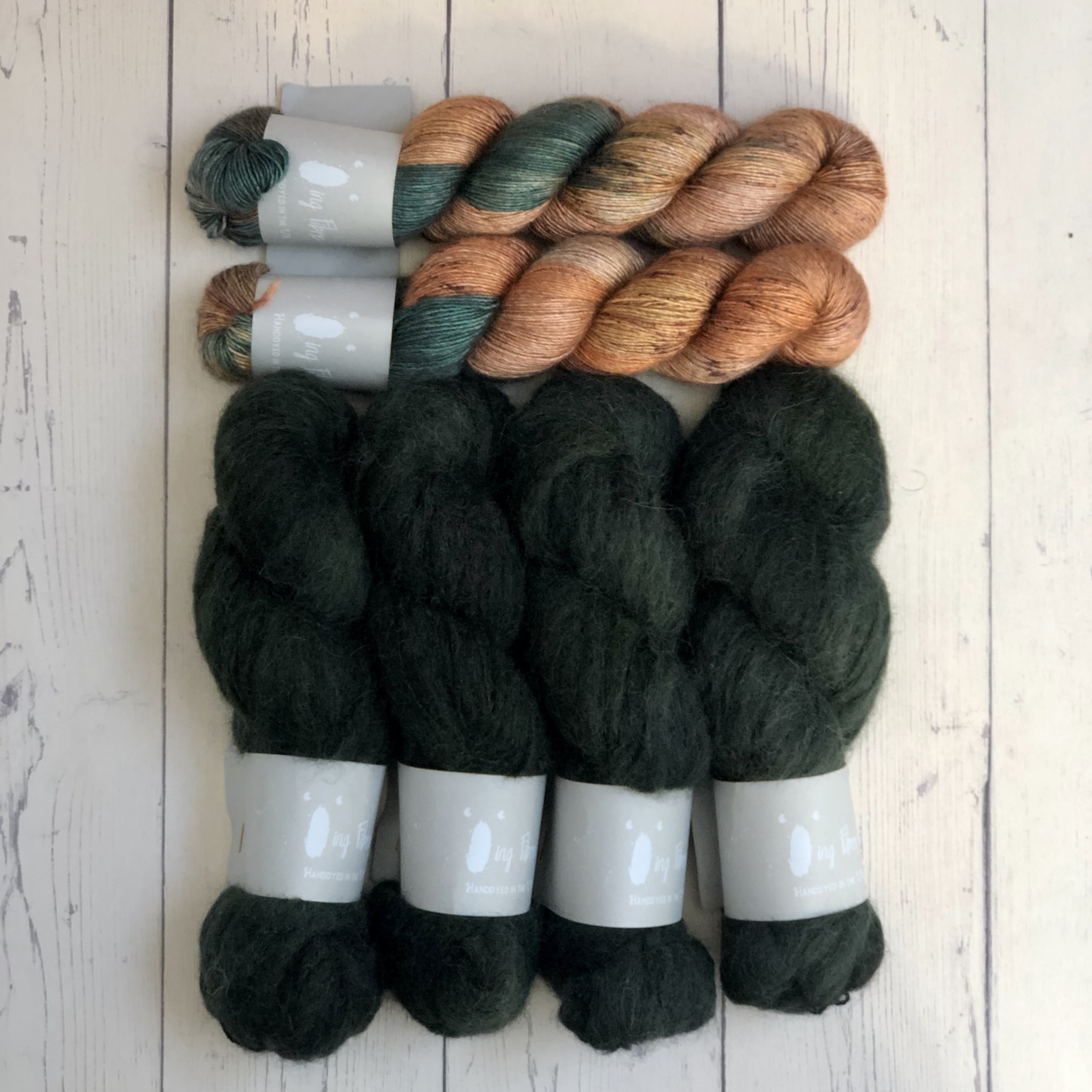 Westknits WK FLYING FOXTAIL - KIT SCALLOP