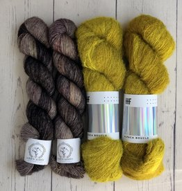 Westknits WK FLYING FOXTAIL - KIT KELP
