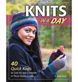 KNITS IN A DAY by CANDI DERR
