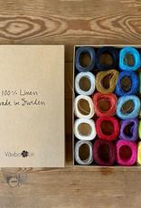 Växbo Lin LINGARN SAMPLE BOX