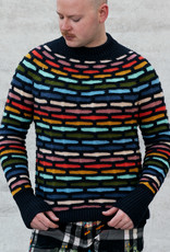 Westknits WK PAINTING BRICKS SWEATER CONTRAST COLOUR - KIT 4