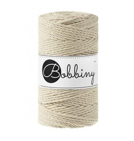 Bobbiny Cords 3PLY MACRAMÉ ROPE 3MM - BEIGE