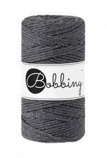 Bobbiny Cords 3PLY MACRAMÉ ROPE 3MM - CHARCOAL