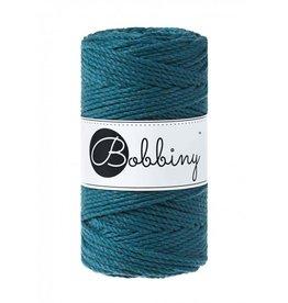Bobbiny Cords 3PLY MACRAMÉ ROPE 3MM - PEACOCK BLUE