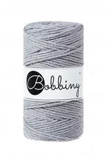 Bobbiny Cords 3PLY MACRAMÉ ROPE 3MM - SILVER
