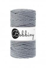 Bobbiny Cords 3PLY MACRAMÉ ROPE 3MM - STEEL