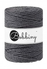 Bobbiny Cords 3PLY MACRAMÉ ROPE 5MM - CHARCOAL