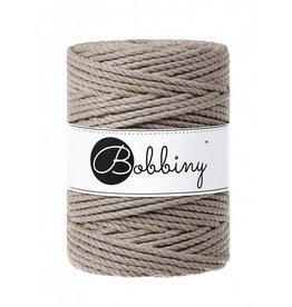 Bobbiny Cords 3PLY MACRAMÉ ROPE 5MM - COFFEE