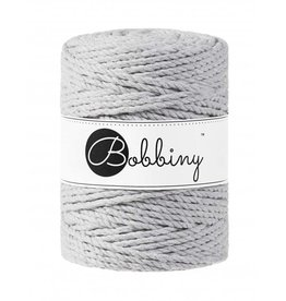 Bobbiny Cords 3PLY MACRAMÉ ROPE 5MM - LIGHT GREY