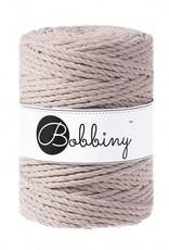 Bobbiny Cords 3PLY MACRAMÉ ROPE 5MM - PEARL