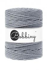 Bobbiny Cords 3PLY MACRAMÉ ROPE 5MM - STEEL