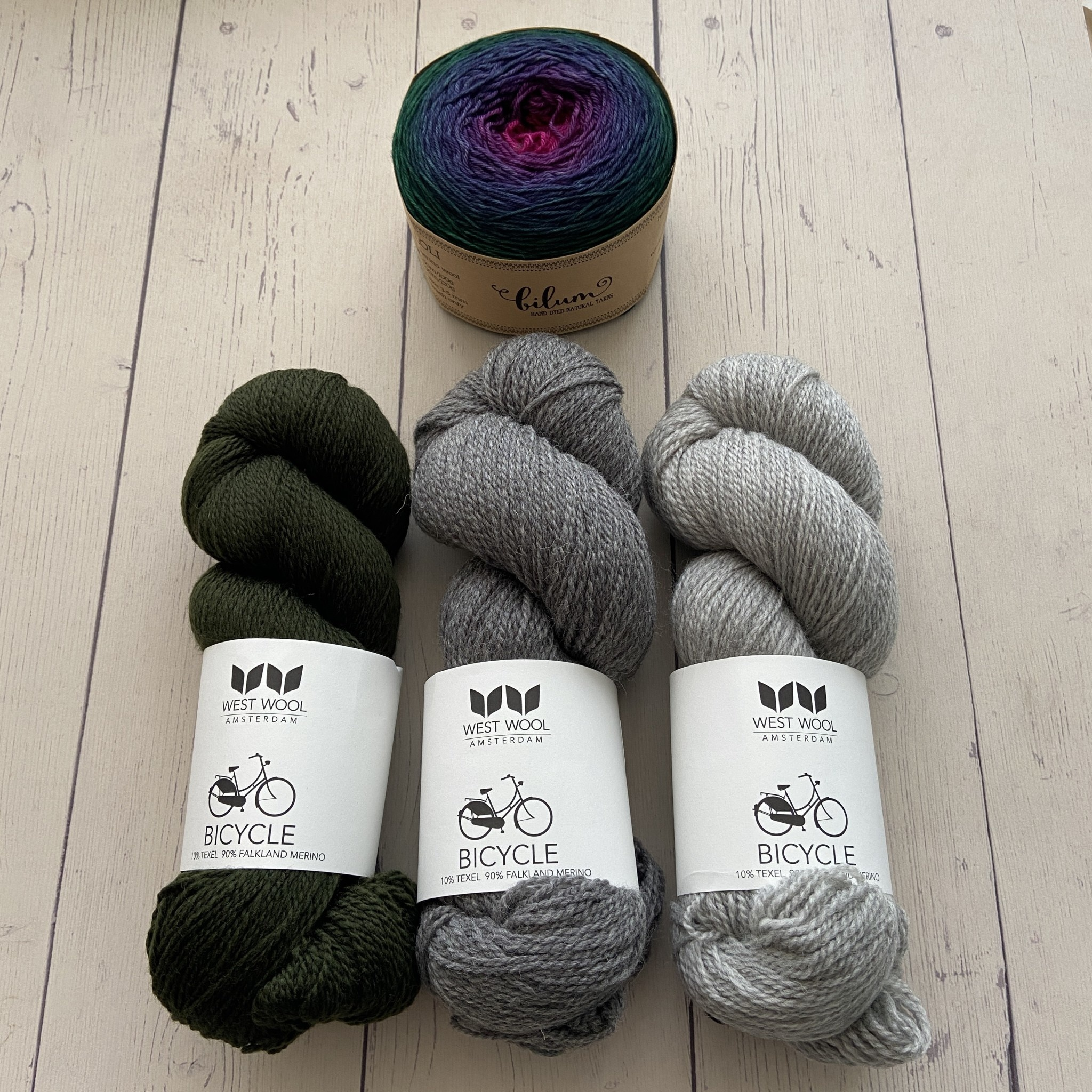Westknits WK LUMPY SPACE - KIT 3