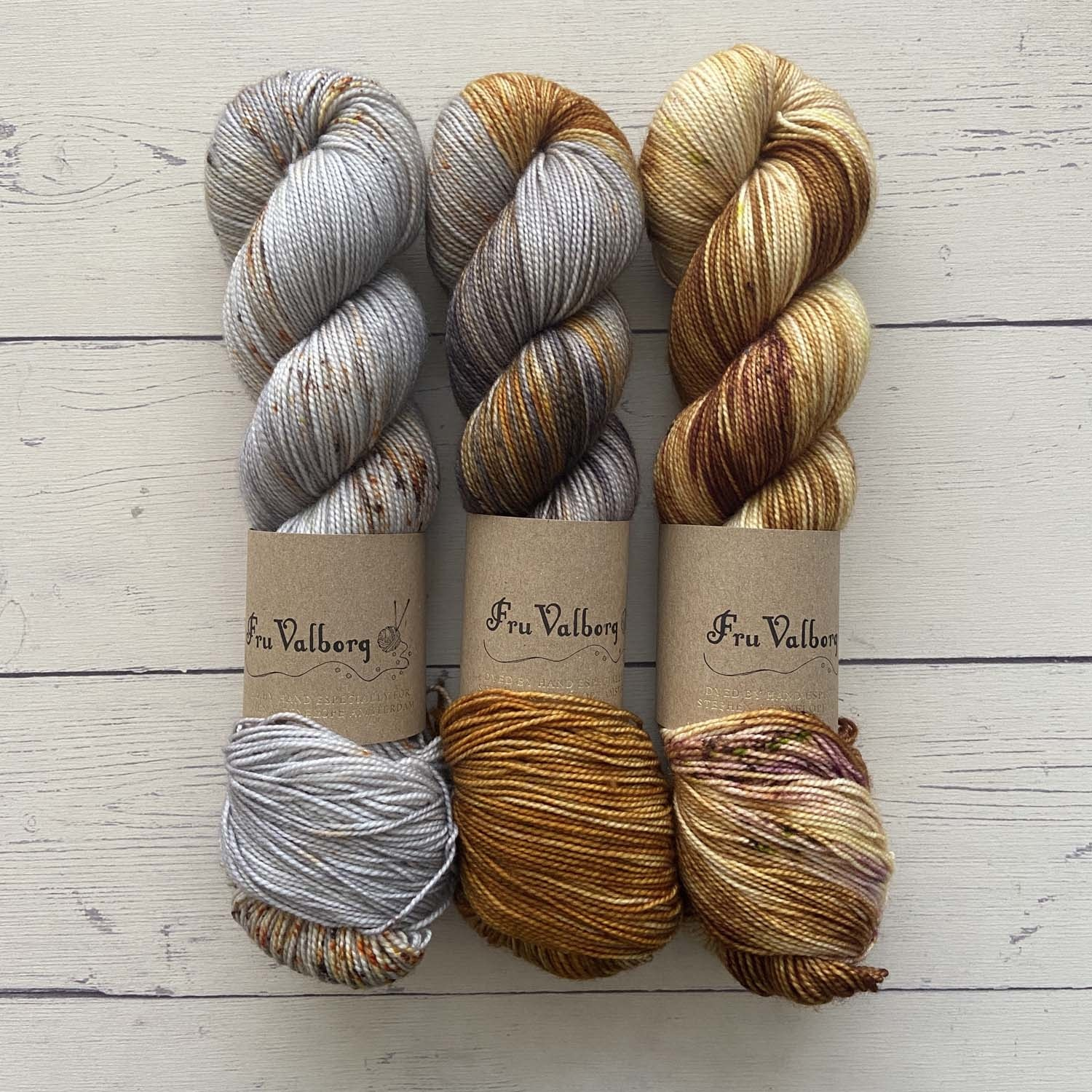 THREE SKEIN FADE - HAWK