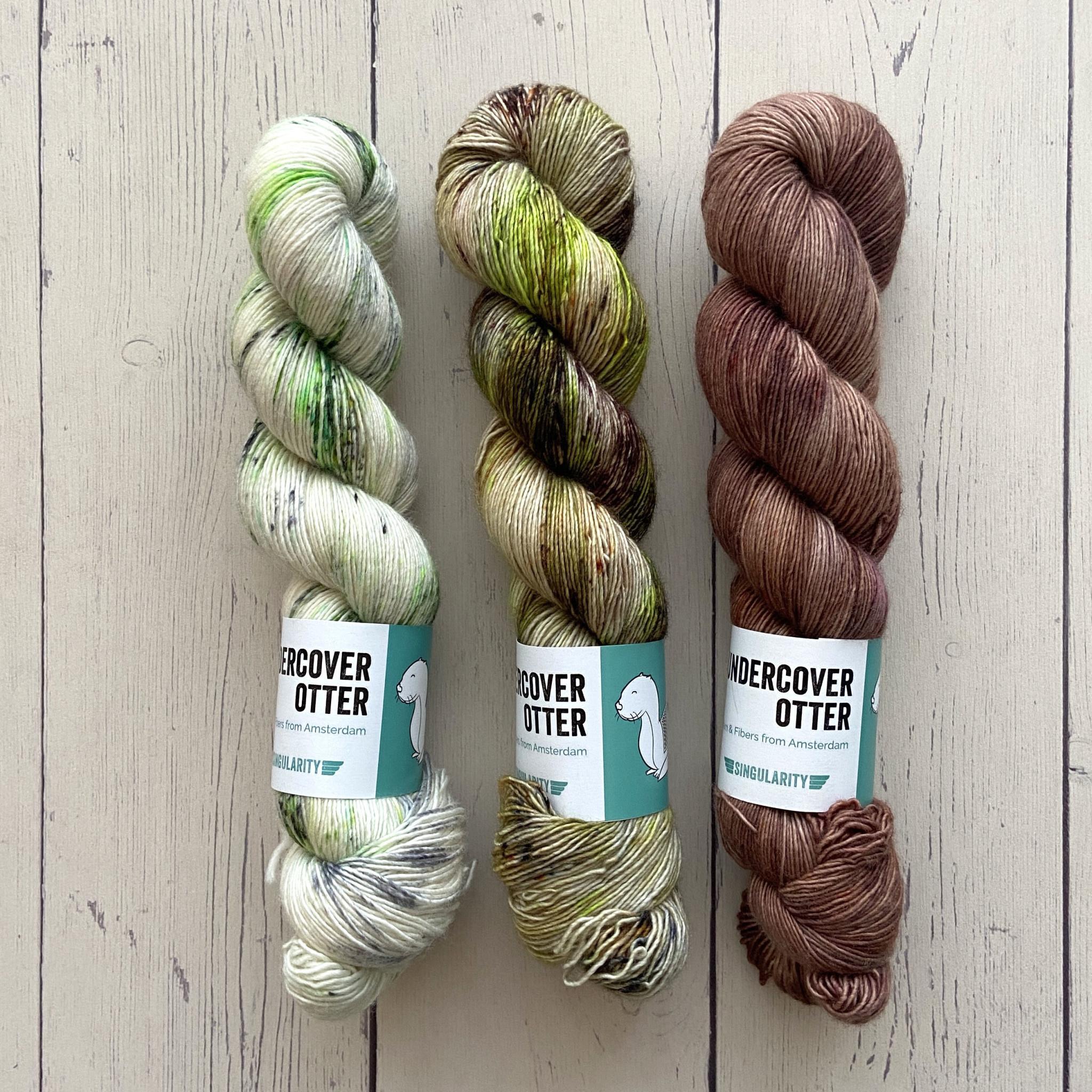 THREE SKEIN FADE - HAUNTED WOOD