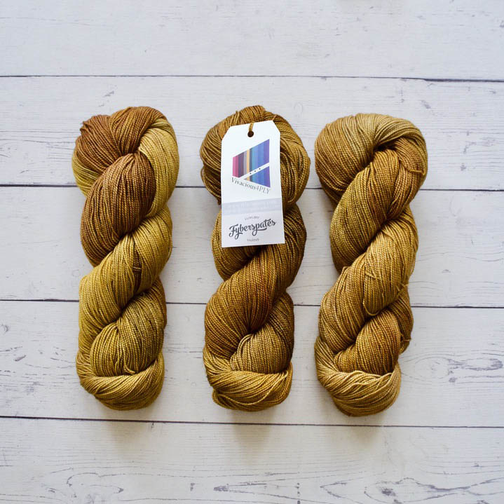 Fyberspates VIVACIOUS 4 PLY - 635 MAPLE SYRUP