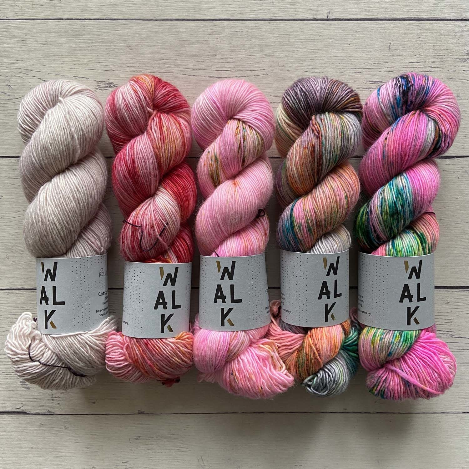 FIVE SKEIN FADE - PINK PARTY