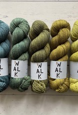 FIVE SKEIN FADE - KNIT YOUR GREENS